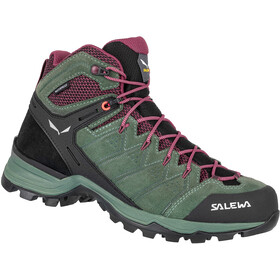 SALEWA Alp Mate WP Mid Shoes Women, duck green/rhododendon